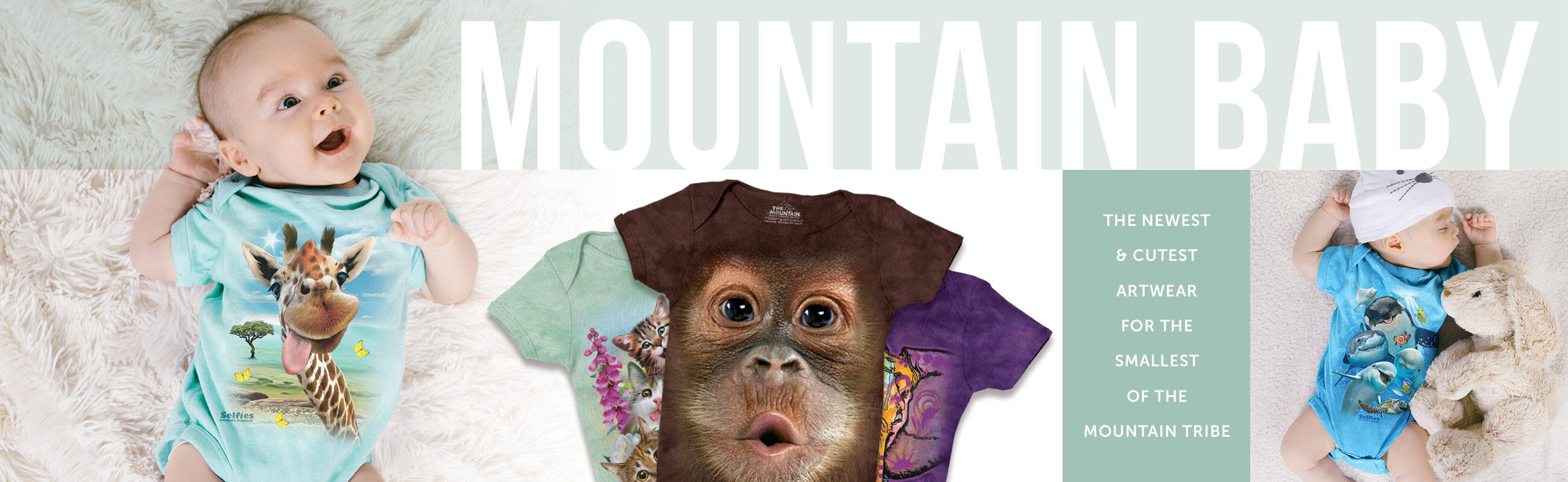 The Mountain Baby - Baby Onsies