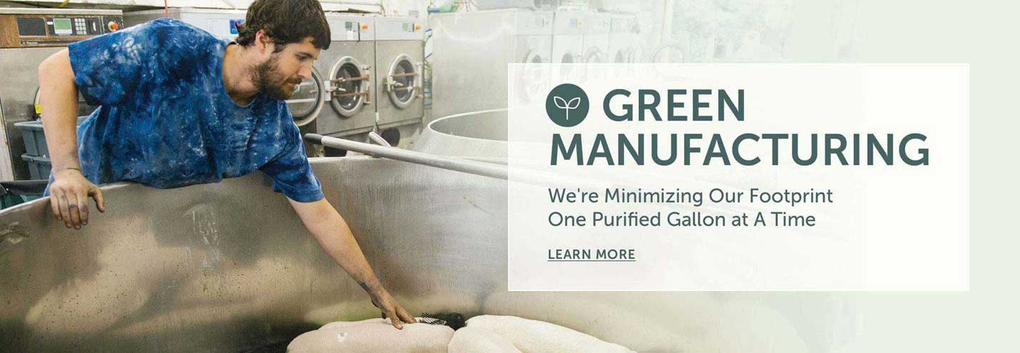 We are Minimizing Our Footprint One Purified Gallon at a Time